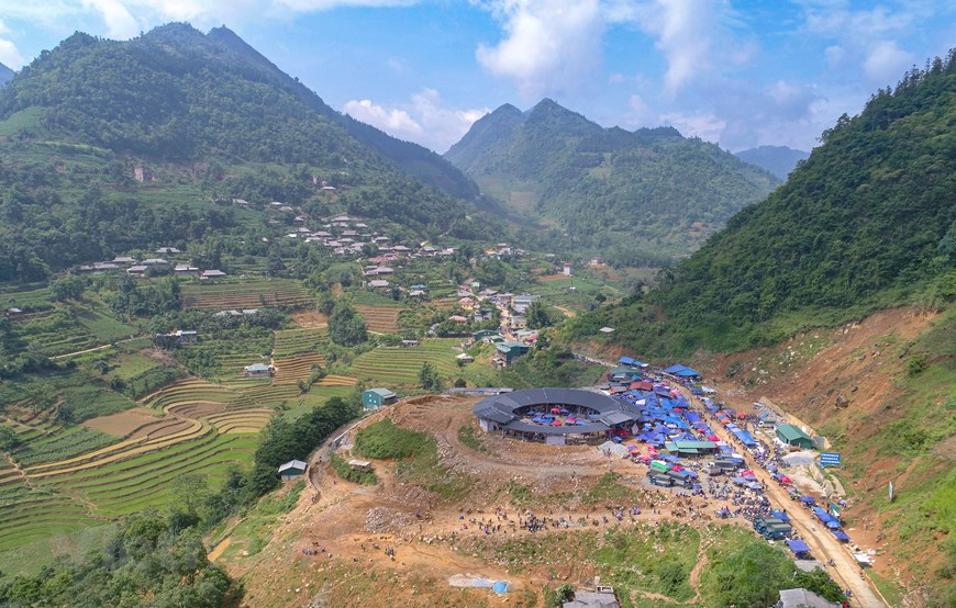 stunning natural landscape in bac ha mountainous district