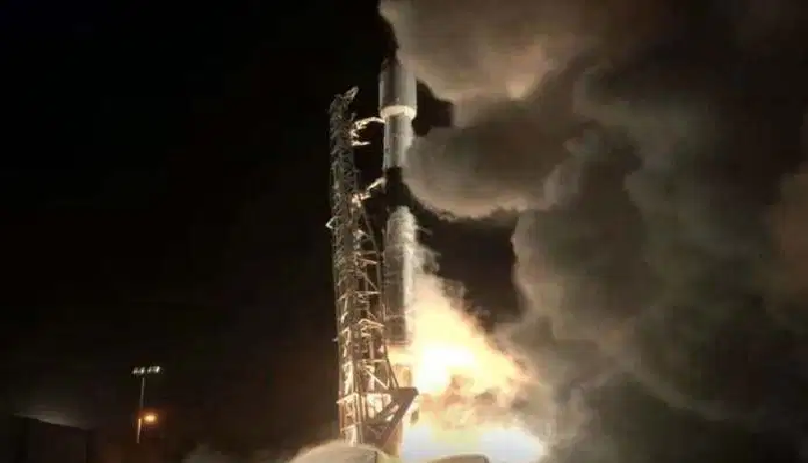 SpaceX successfully launched 60 Starlink satellites into the orbit