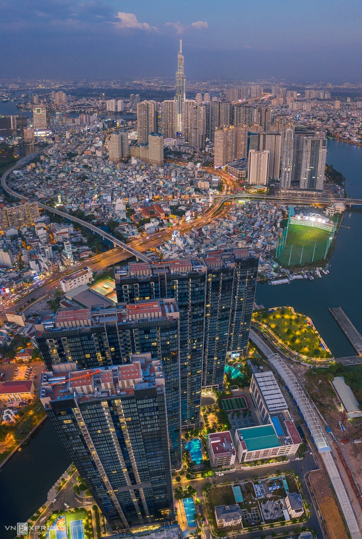 vietnams gorgeous cities from a bird eye view