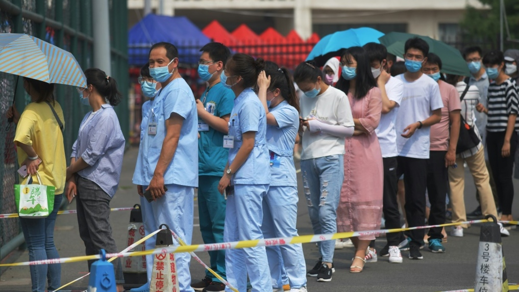 china announces the new outbreak of covid 19 curbed after the massive testing effort
