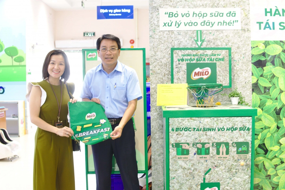 nestle vietnam and la vie join forces for zero waste future