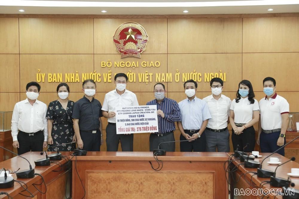 Overseas Vietnamese contribute to Covid-19 vaccine fund