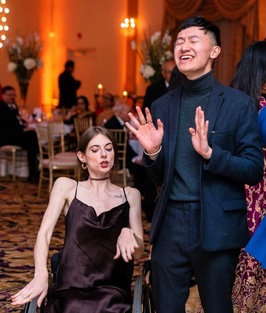 Romantic love sparks between Vietnamese-born man and disabled American model