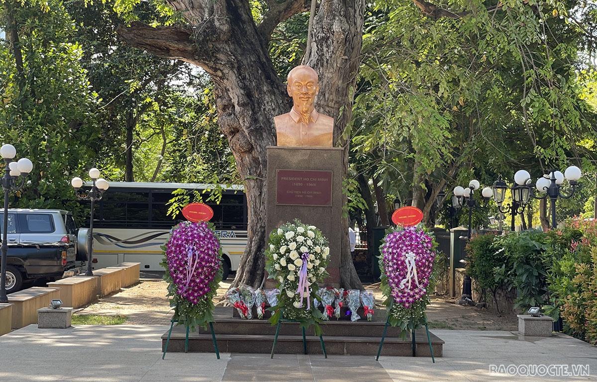 President Ho Chi Minh's stop in Sri Lanka, en route to save Vietnam