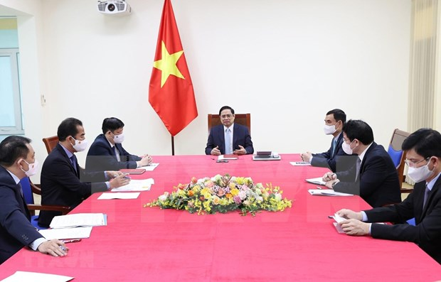 Vietnam, France agree to help each other with Covid-19 vaccines