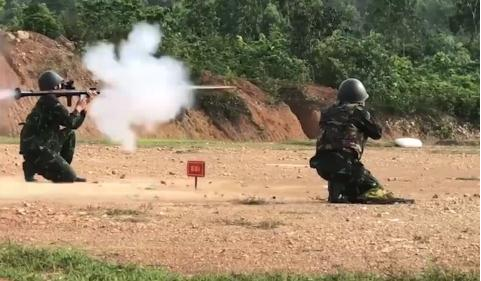 Vietnamese team gears up for Int'l Army Games 2021
