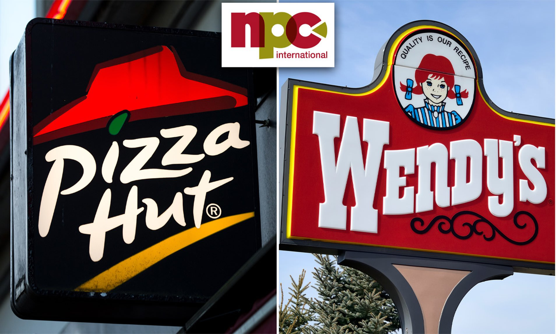 A Huge Wendy's and Pizza Hut franchise filed for bankruptcy due to Covid-19
