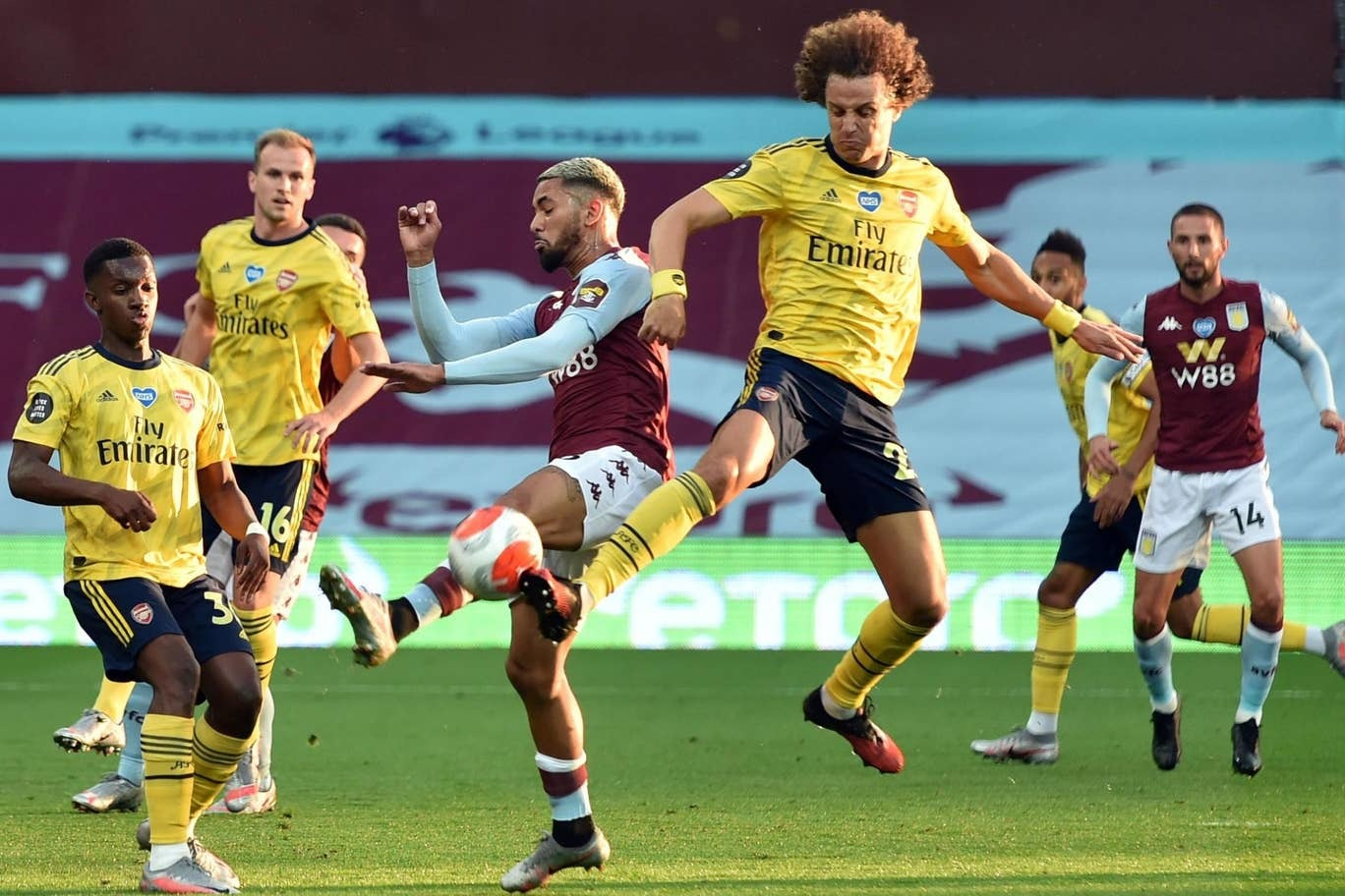 aston villa 1 0 arsenal trezeguet winner rescues villa out of relegation zone