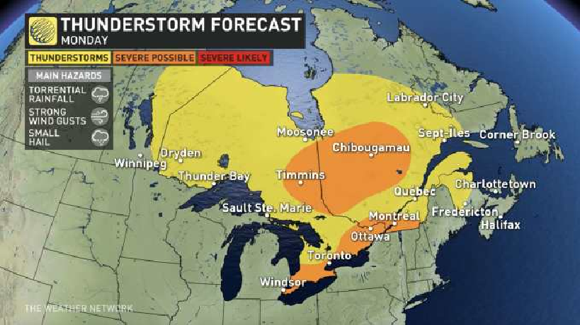 us and canada weather forecasts july 27 storm hanna weakens to tropical depression hurricane douglas hreaten parts of us
