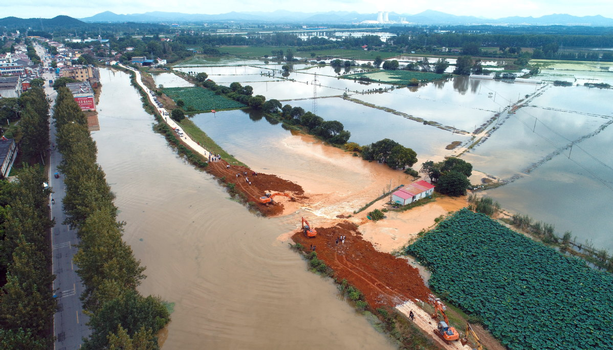 china massive flood updates yangtze river in the throes of third flood peak 45 million affected