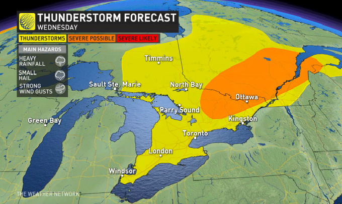 US and Canada weather forecast July 29: Potential Tropical Cyclone Nine has ominous track
