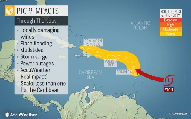 us and canada weather forecast july 29 potential tropical cyclone nine has ominous track