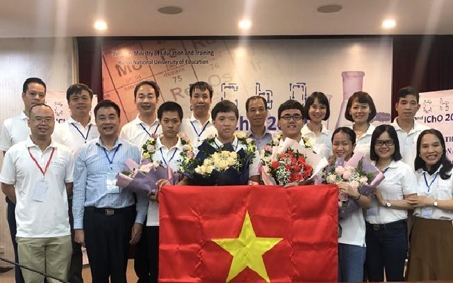 vietnamese students rank second at 2020 international chemistry olympiad