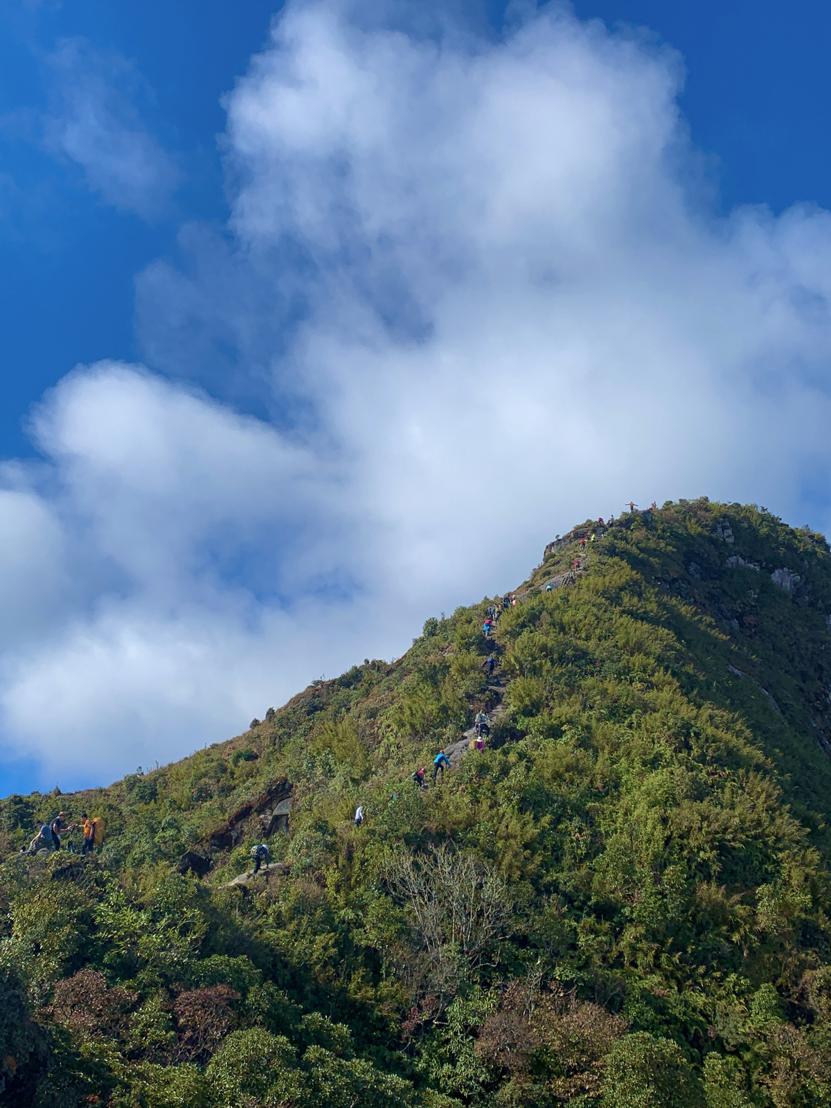 ky quan san a challenging but imposing peak for adventure lovers