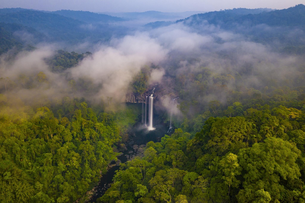 K50 Waterfall in Vietnam's Central Highland, a truly heaven on Earth