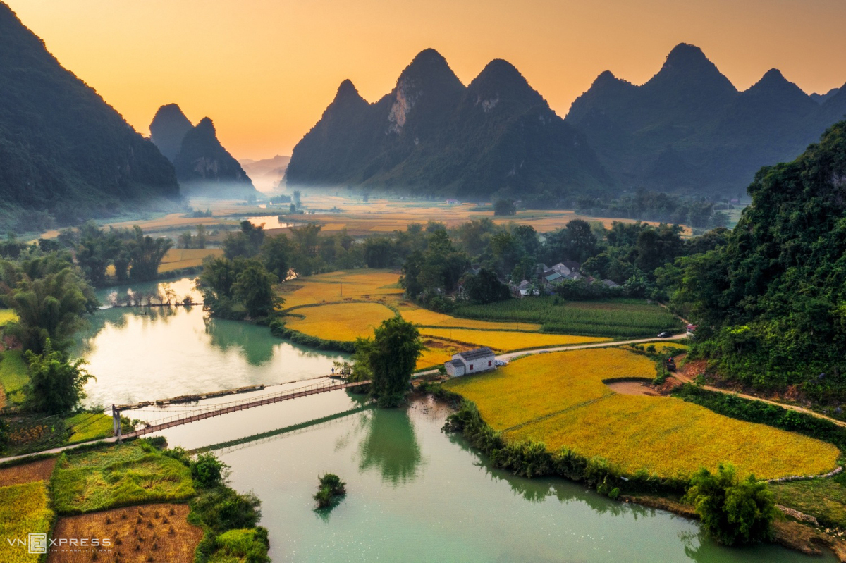 bucolic vista throughout vietnam a feast for the eyes