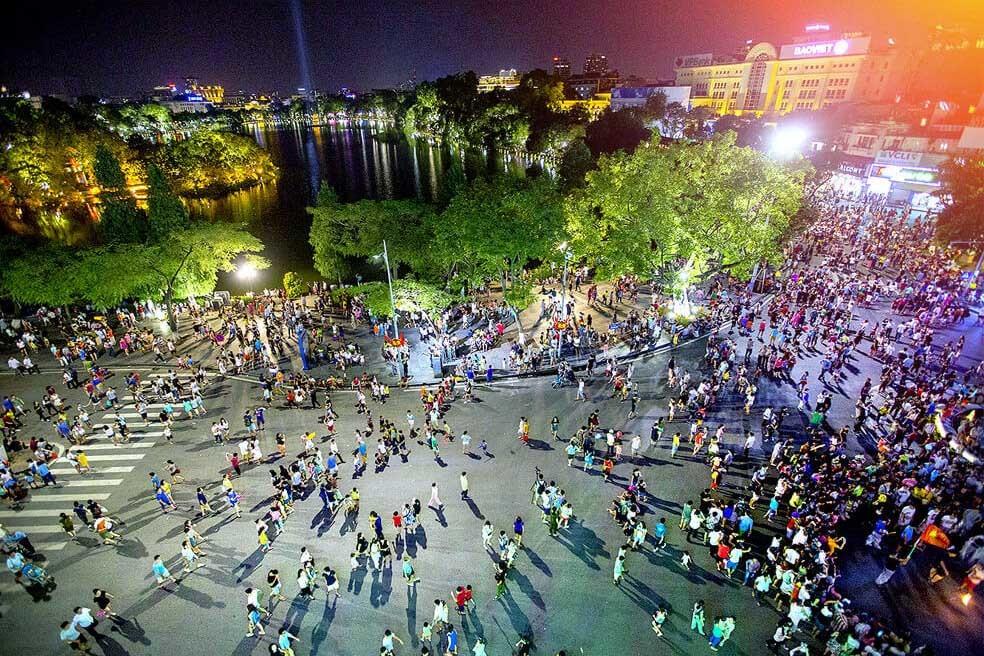 hanoi old quarters stay still amid covid 19 fears