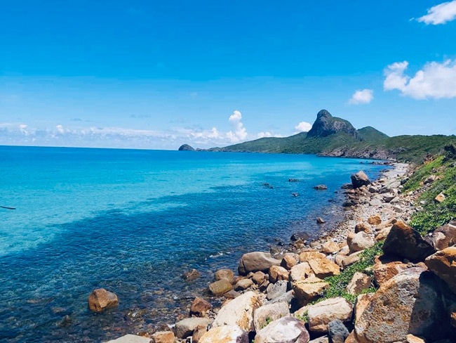 bai nhat an unexplored beach in con dao off southeast coast of vietnam