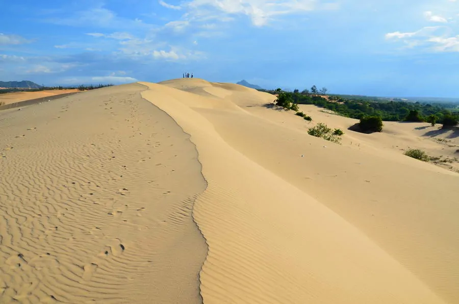 marvelous mobile sand dunes in vietnams south central coast