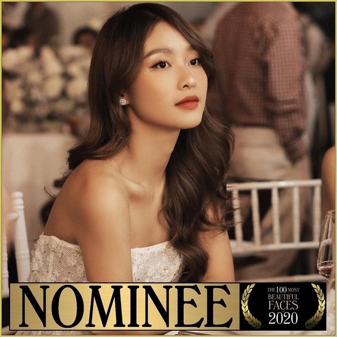 Vietnamese actress nominated among the world's top 100 most beautiful faces 2020