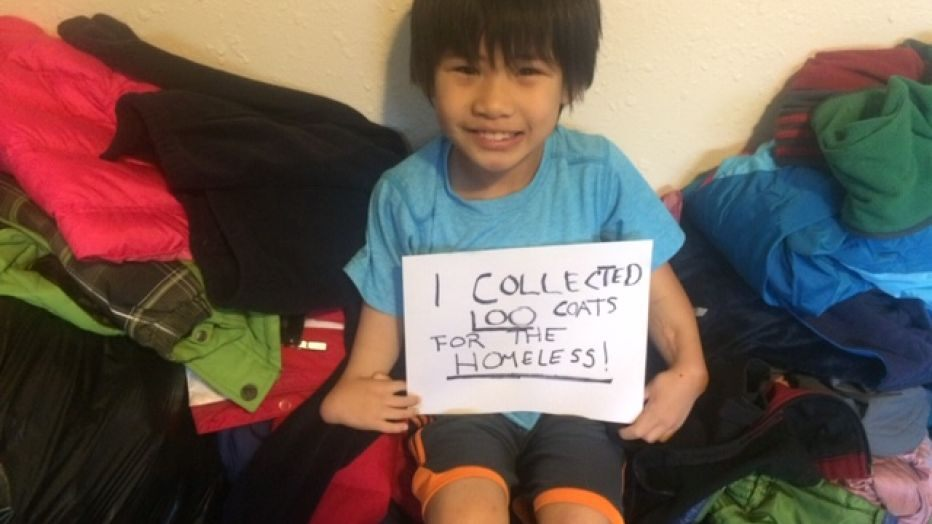 kind hearted vietnamese american boy donates thousands of face masks to the homeless in washington