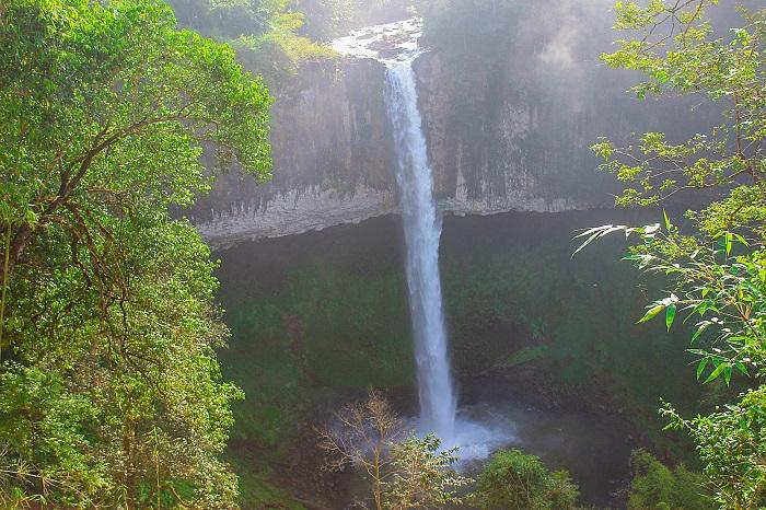 dak glun waterfall not to be missed destination in vietnams central highlands