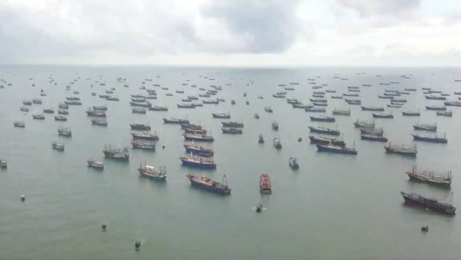 chinese fishing vessels pose possible threats to seafood resources in bien dong sea