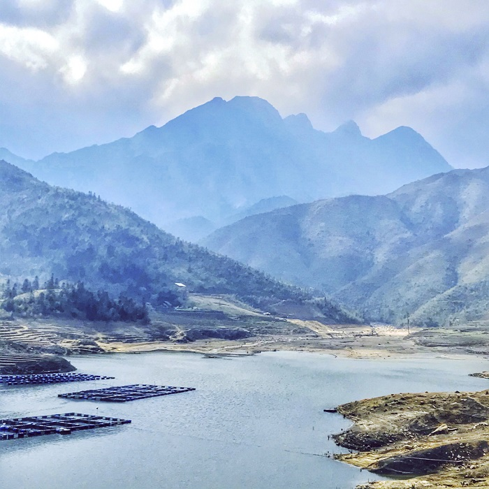 "Seo My Ty Lake, an ""oasis"" of Northwestern Vietnam"