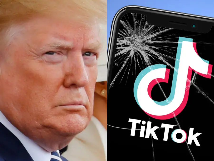 us bans downloads of tiktok and wechat as of this sunday