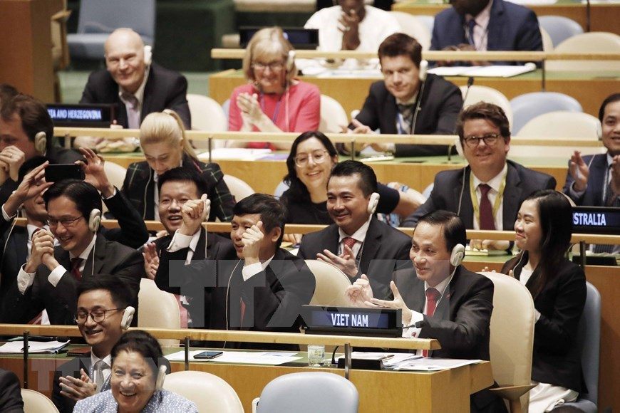 vietnam is a responsible and proactive member during 43 years of un membership