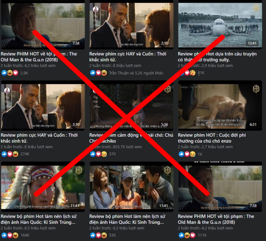 earning thousands of dollars from spoiling film contents on social platforms in vietnam