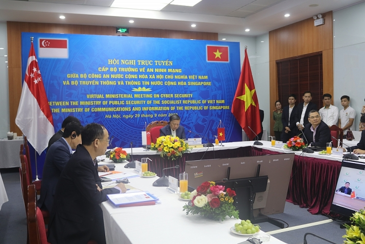 Vietnam and Singapore boost cooperation on cybersecurity