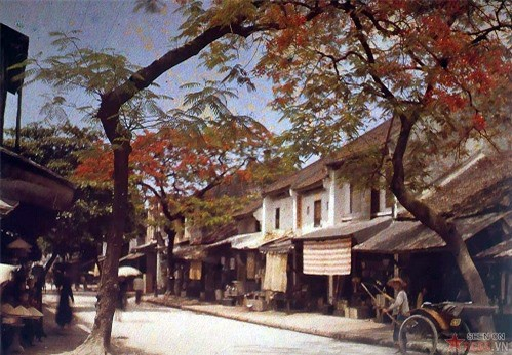 invaluable color photos of vietnamese life 100 years ago
