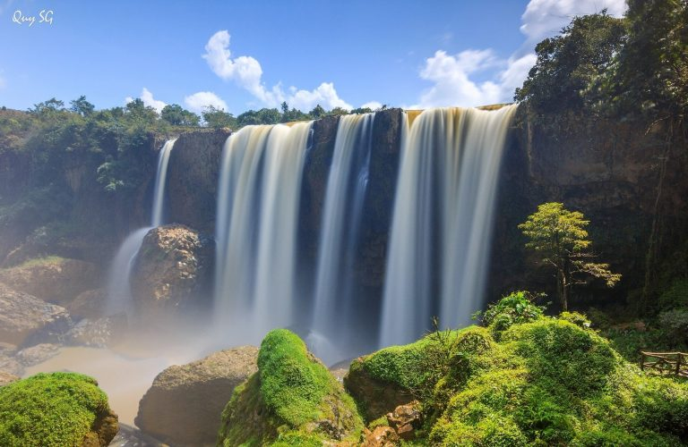 conquering mysterious elephant waterfall in central highlands