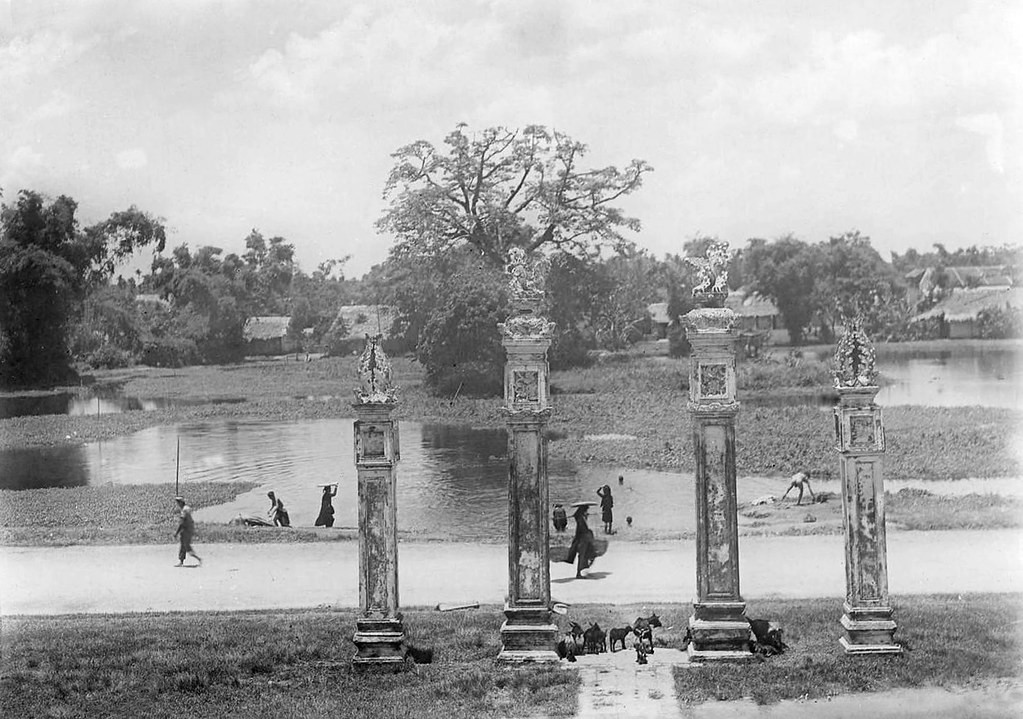 Rare photos of Temple of Literature in French colonial period