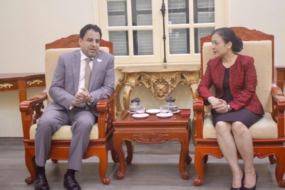 uae ambassador to vietnam appreciates vufo a bridge to strengthen people to people relations