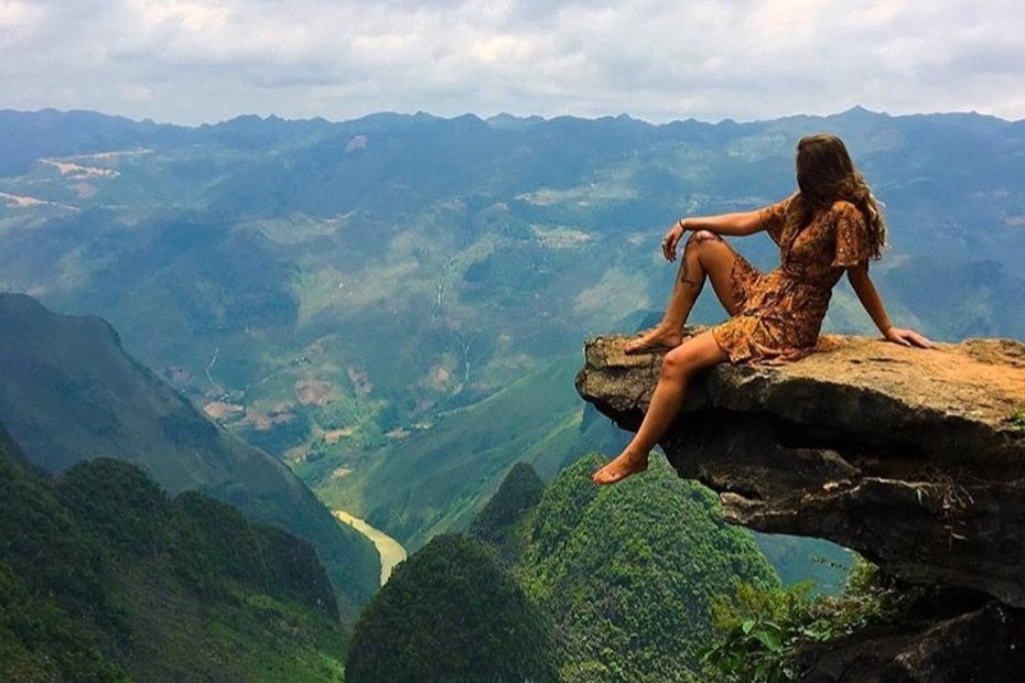 Craggy cliffs in Vietnam that offer thrills to adventure-lovers
