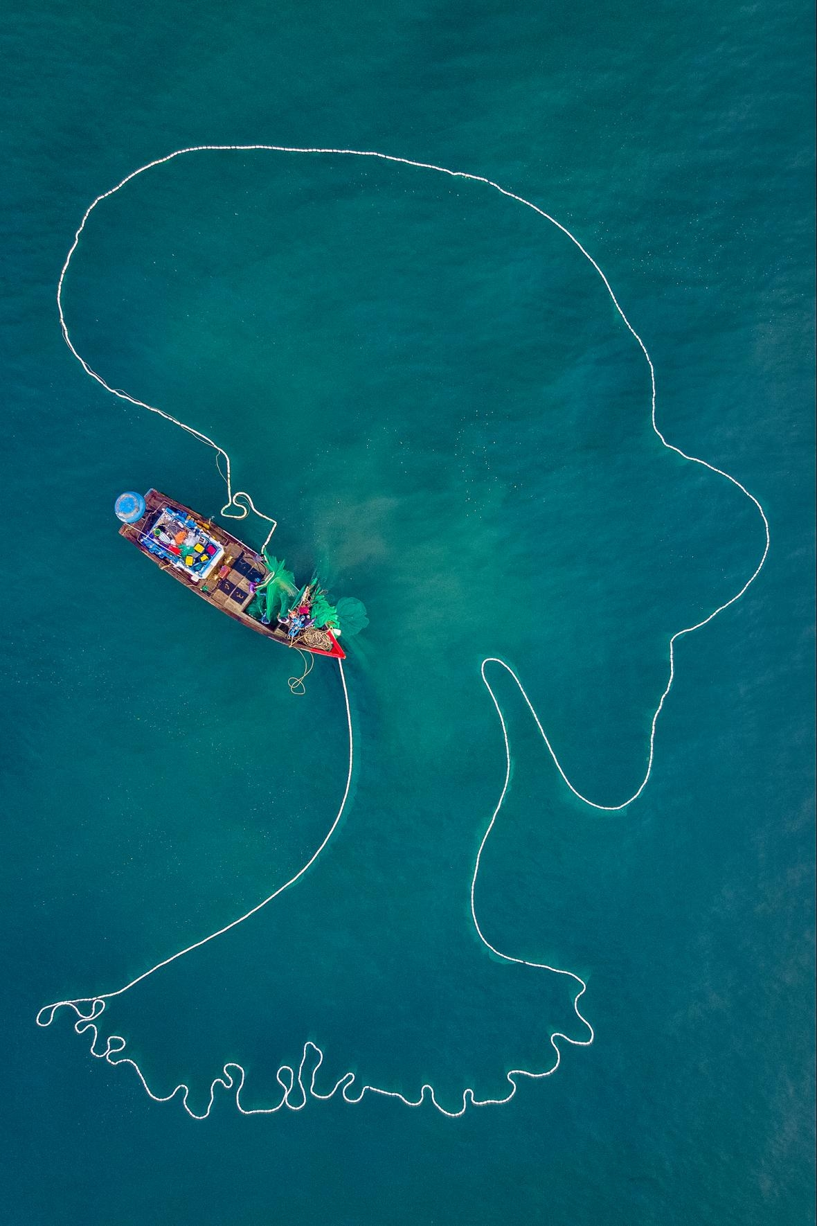 five photos taken by vietnamese photographers won aerial photography awards