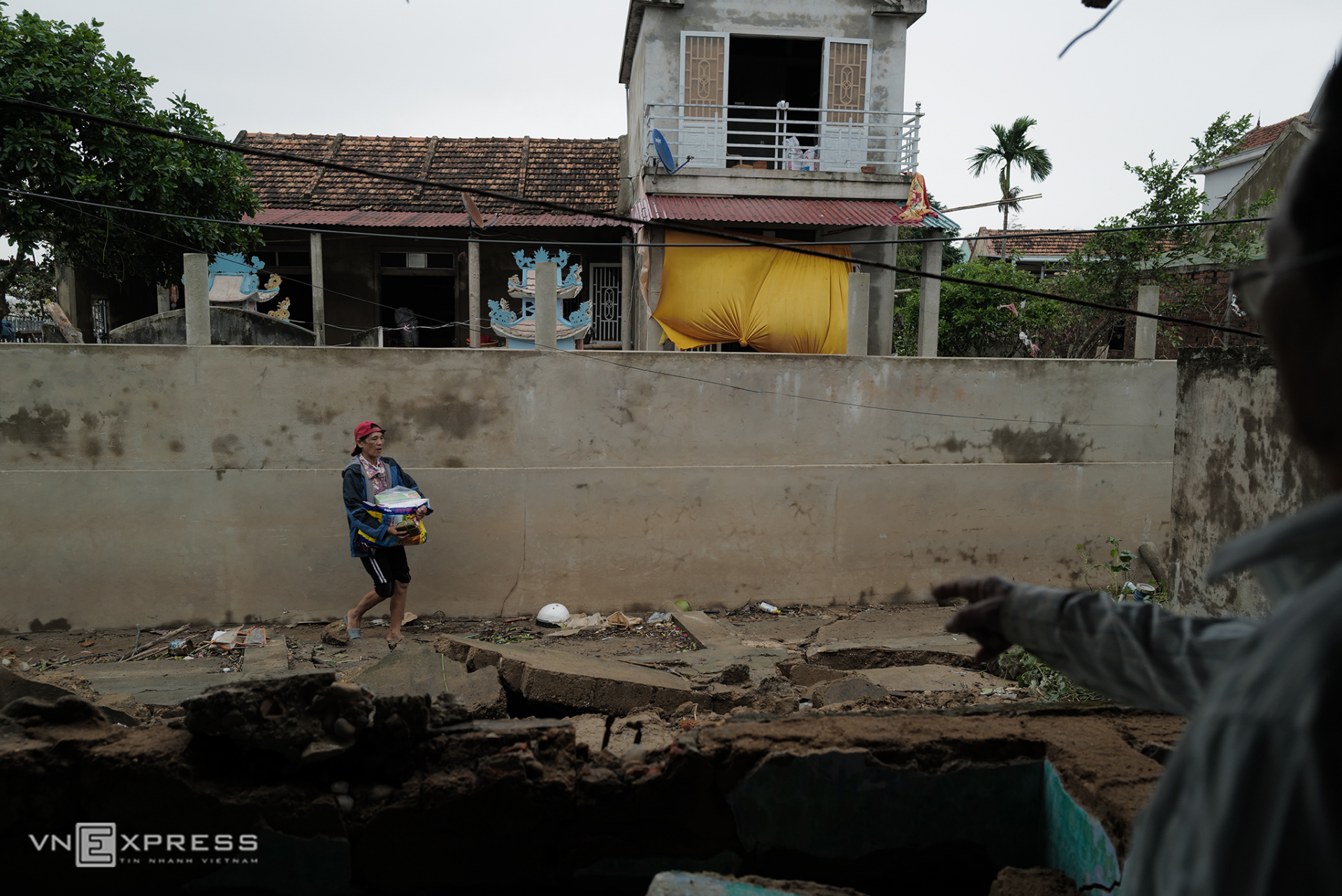 In photos: Quang Binh left ravaged after record flooding