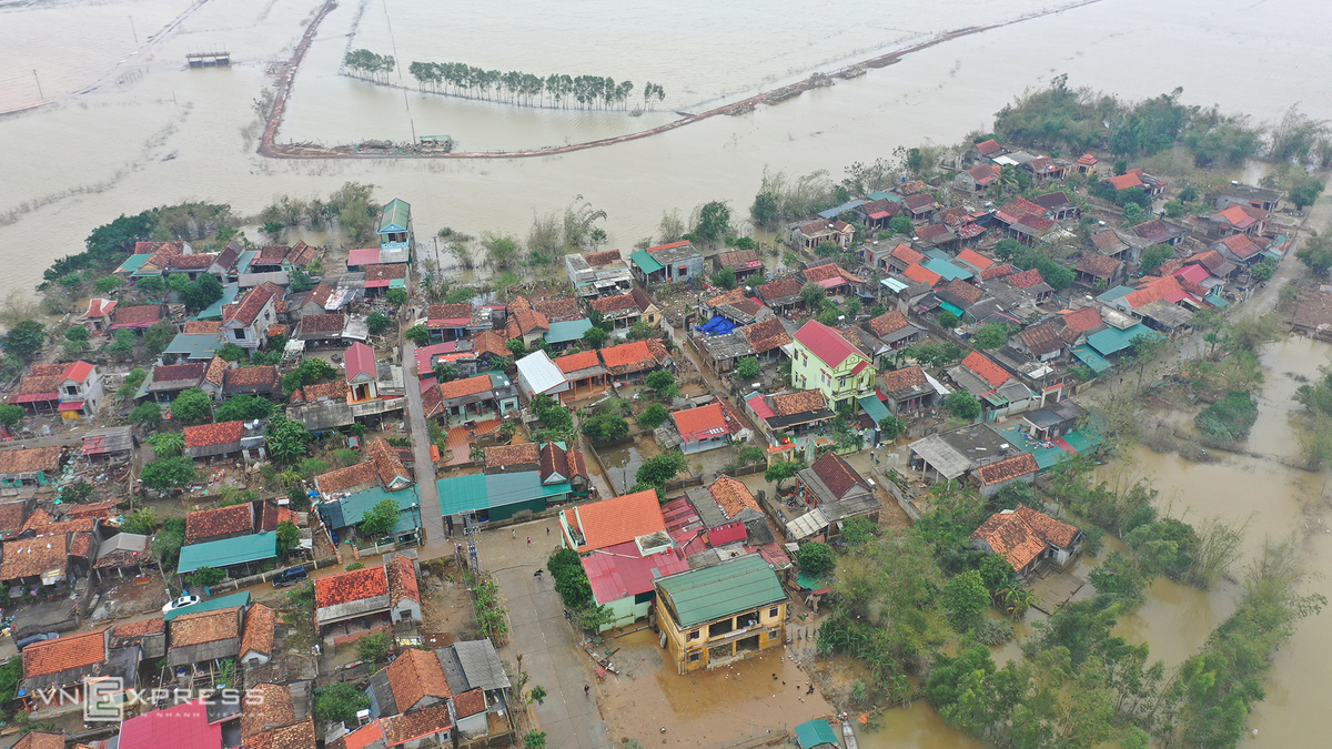 in photos quang binh left ravaged after record flooding