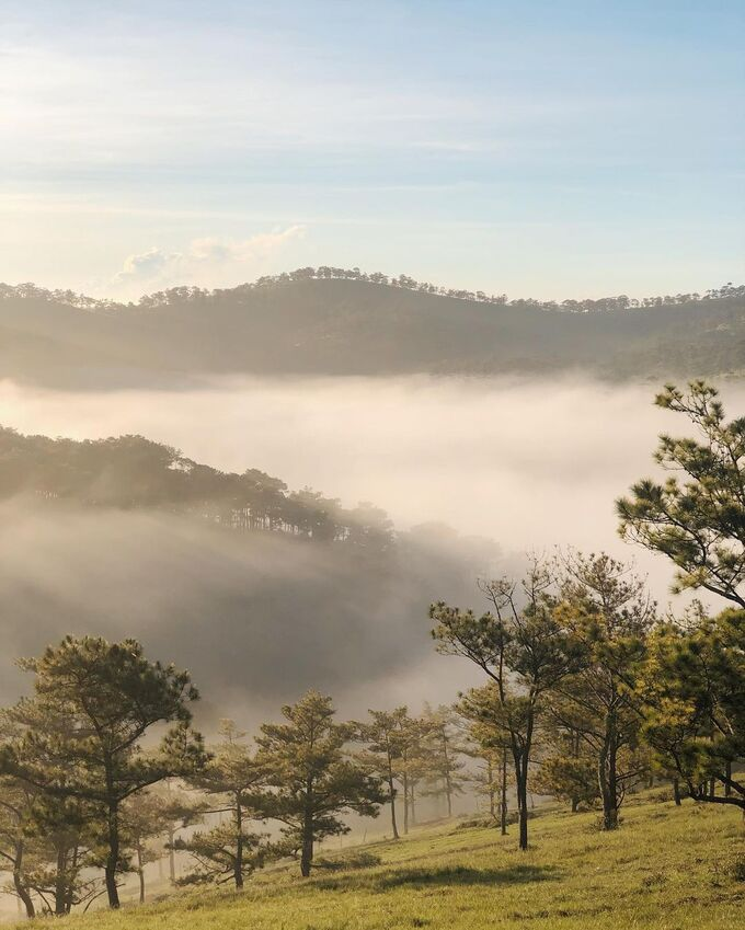 five ideal hills for cloud hunting in da lat