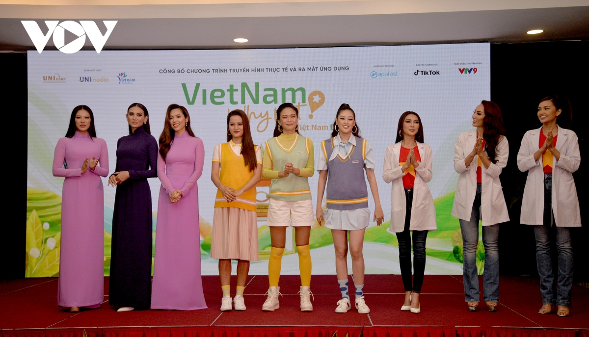 nine vietnamese beauty queens promote the countrys tourism