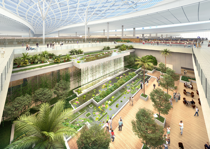 vietnamese government approves the first phase construction of long thanh international airport