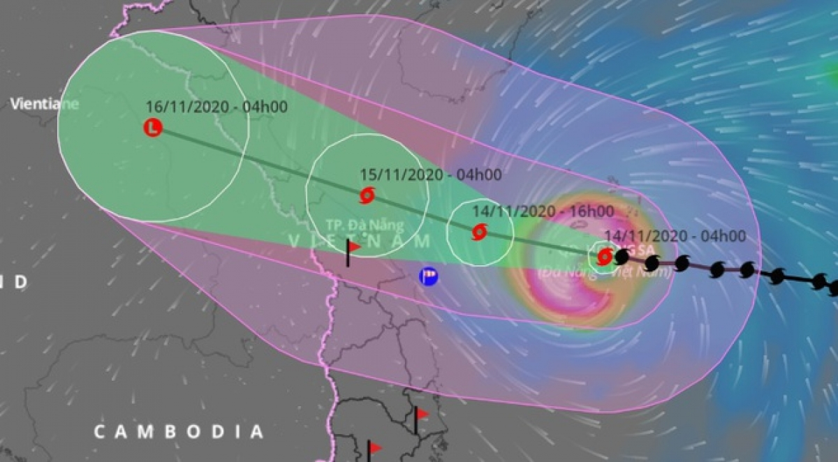 Typhoon Vamco in Philippines causes 42 people dead, 400,000 evacuated