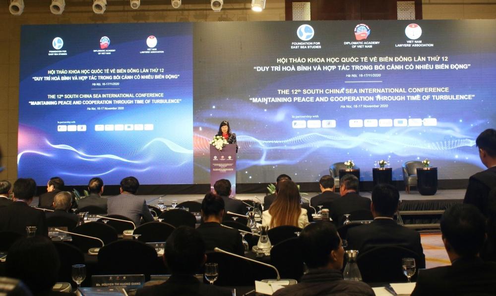chinas coast guard bill a hot topic at south china sea bien dong international conference