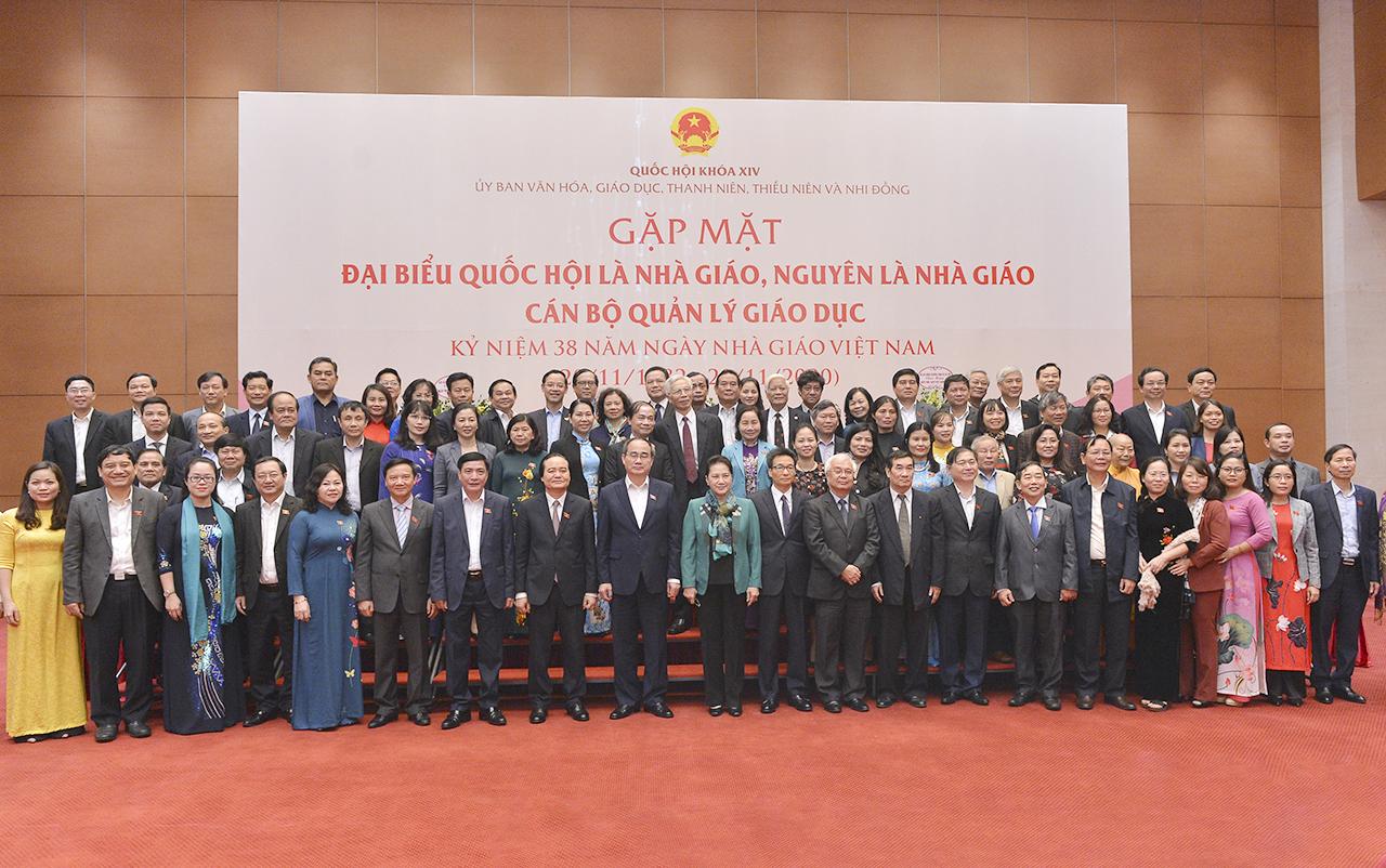 top legislator expresses gratitude to teachers and educational managers