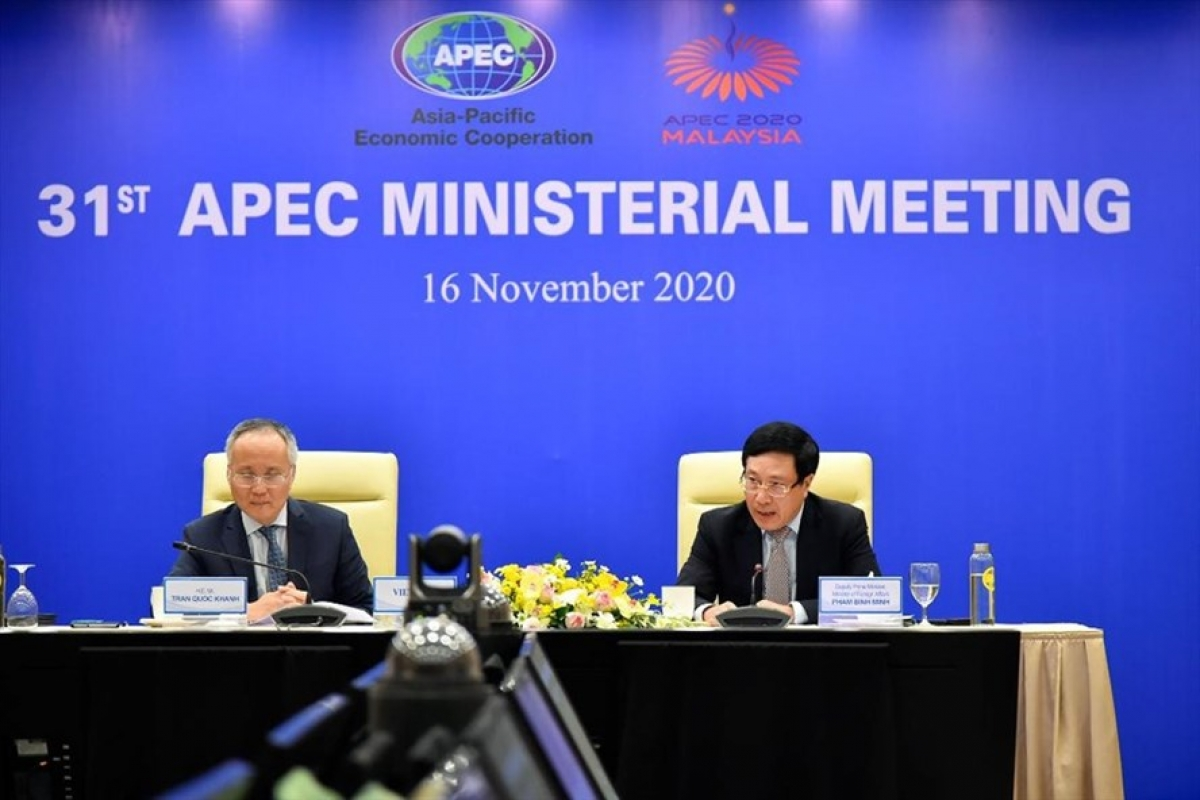 vietnam is a proactive and responsible member of apec