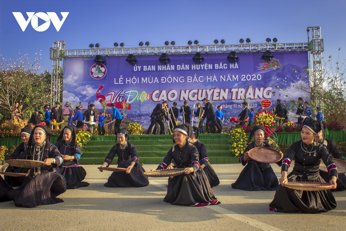 unique wintery festival on bac ha plateau kicks off