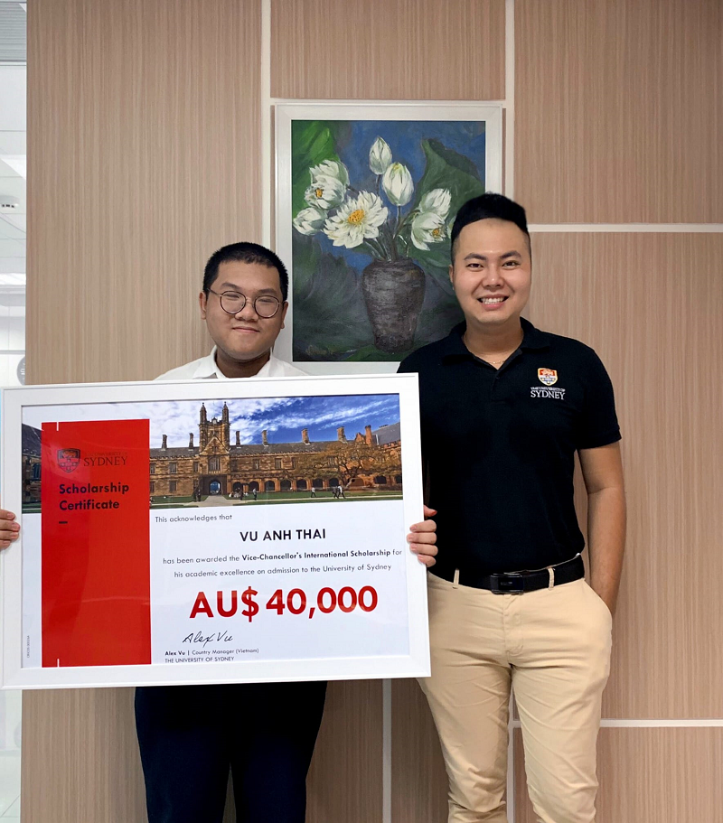 vietnamese student gains scholarship of top australian university