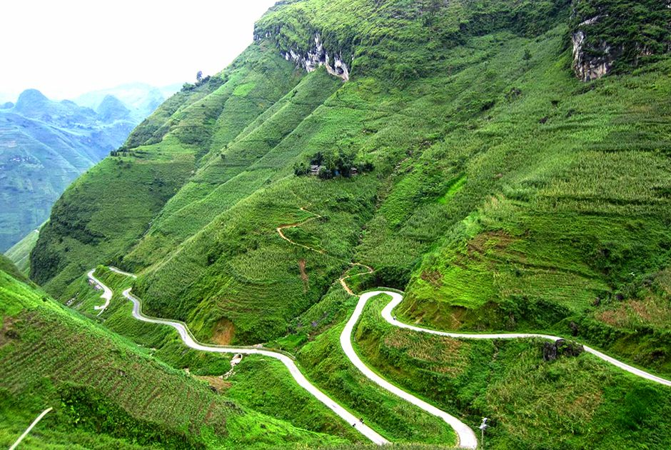 conquering four greatest mountain passes in northern vietnam